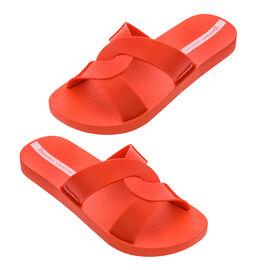 Ipanema Feel Slide Super Comfortable Sandals in Living Coral Colour