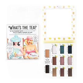 The Balm: Eyeshadow Palette - Whats The Tea