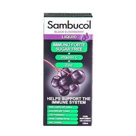 Sambucol: Black Elderberry Immuno Forte Sugar Free- 120ml