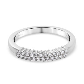 RHAPSODY 950 Platinum IGI Certified Diamond Ring 0.25 Ct.