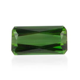 AAA Green Tourmaline Octagon 15x7.7 Faceted 7.290 Cts