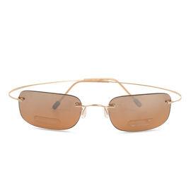 MARCHON AIRLOCK Designer Sunglasses - Golden