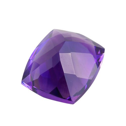 AAA Moroccan Amethyst Cushion 12.11x10.03x7.36 Faceted 4.85 Cts