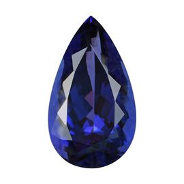 IGI Certified AAAA Tanzanite Pear Cut 21.98x12.76x9.63mm 17.85 Cts