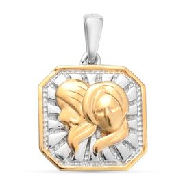 Alexandrite Zodiac Pendant  Sterling Silver 0.03 ct  0.030  Ct.