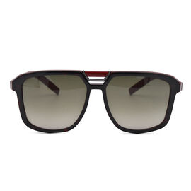 DIOR Red Tort Sunglasses in Black