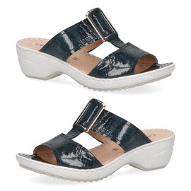 Caprice Nappa Wider Fit Slider Sandal
