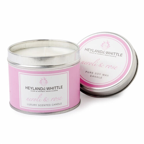 HEYLAND AND WHITTLE- Neroli and Rose Tin and Soap