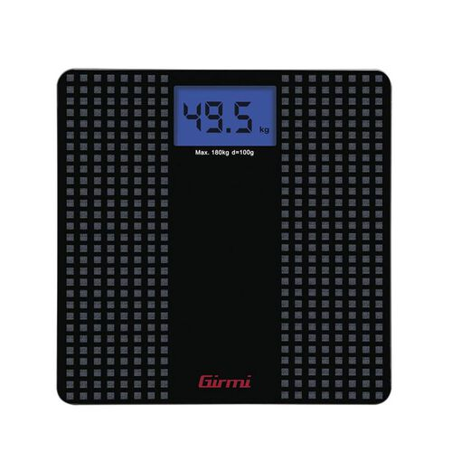 Electronic Personal Scale with Anti-Slip - Black