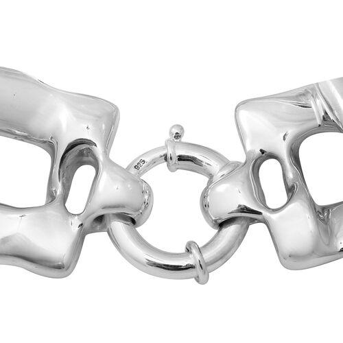 Sterling Silver Link Bracelet (Size 8), Silver wt 31.50 Gms