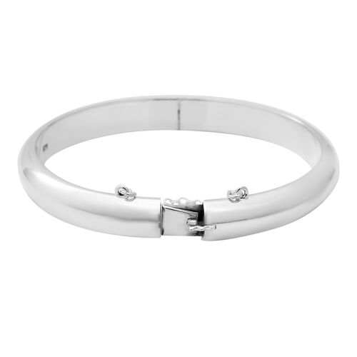 Sterling Silver Bangle (Size 7.5), Silver wt 22.00 Gms