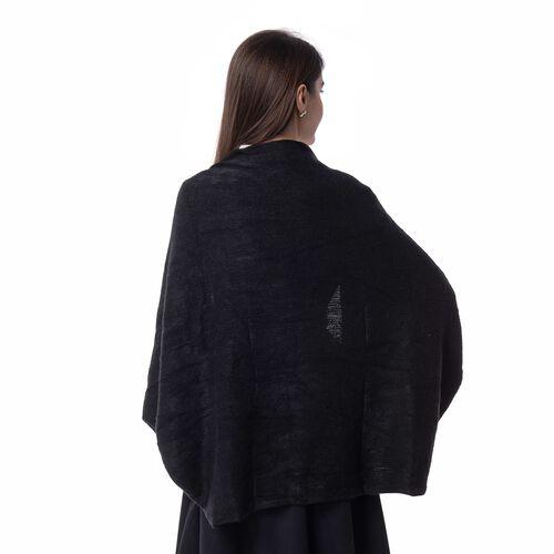 New For Season- Limited Available- Black Colour Shrug (Size 103x36 Cm)