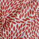 100% Cotton Maroon and White Colour Leaves Printed Towel (Size 160x90 Cm), Pareo (Size 160x50 Cm) and Bag (Size 35x33 Cm)