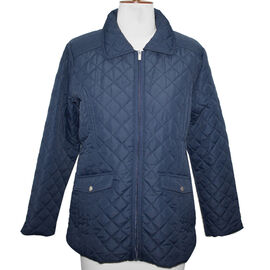 SUGAR CRISP Padded Quilted Jacket (Size 16) - Navy