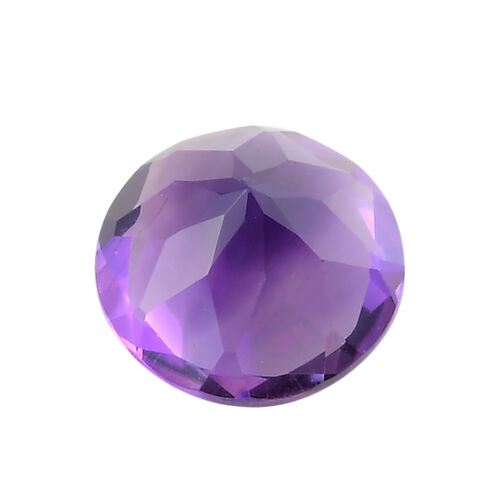 AAA Moroccan Amethyst Round 8.09x5.46 Faceted 1.78 Cts