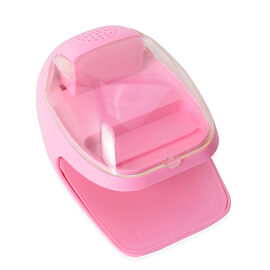 Pink Colour 2 in 1 Nail Dryer (Size 15x11x9 Cm)
