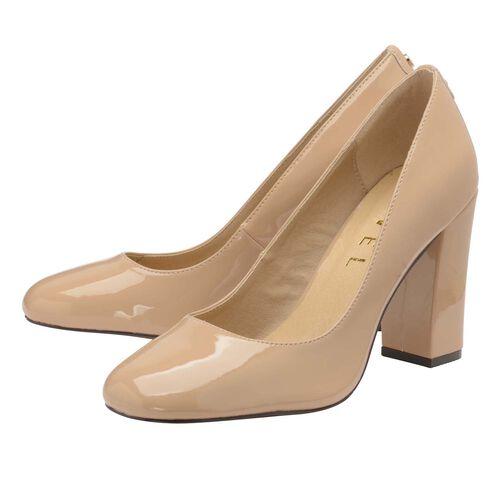 Ravel Nude Baldwin Patent Court Shoes (Size 3)