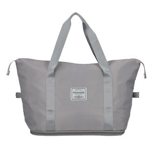 Black Nylon Travel Bag Wall Nylon Lining Polyester