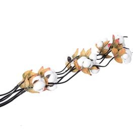 Set of 5- Vibrant Bouquet with Branches of Artifical Flower (Size 135 Cm)