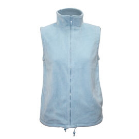 Pure and Natural Skylar Blue Colour Fleece Lined Gilet (Size XL, 20-22)
