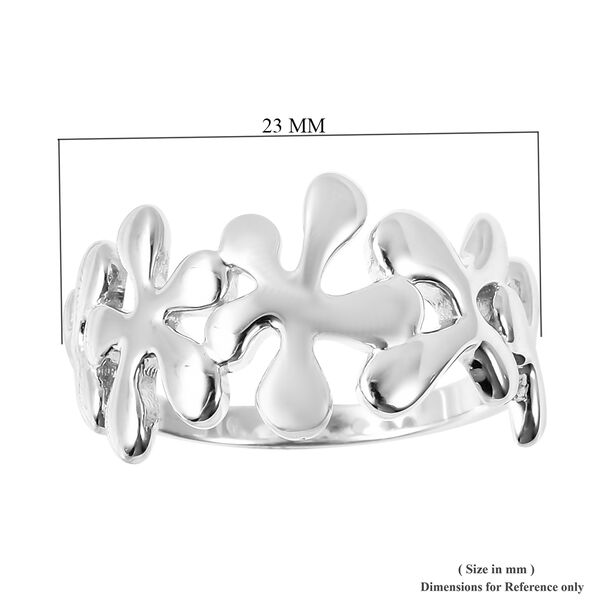 RACHEL GALLEY Infinite Collection- Rhodium Overlay Sterling Silver Ring