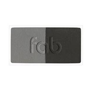 Beautiful Brows: Fab Brows (Incl. Powder, Brush & 6 Stencils) - Slate
