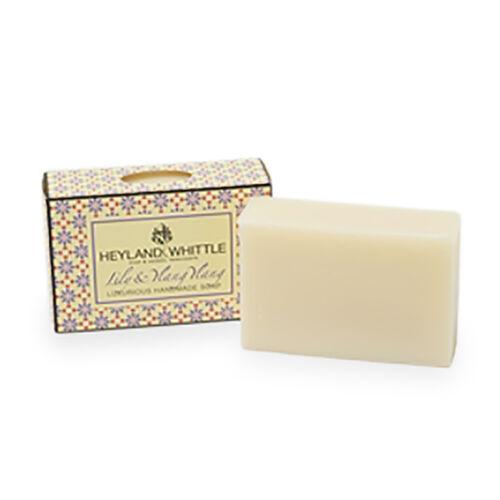 Heyland & Whittle: Lily Ylang Ylang & Gold Soap - 95g & Sisal Exfoliating Bag - 150g