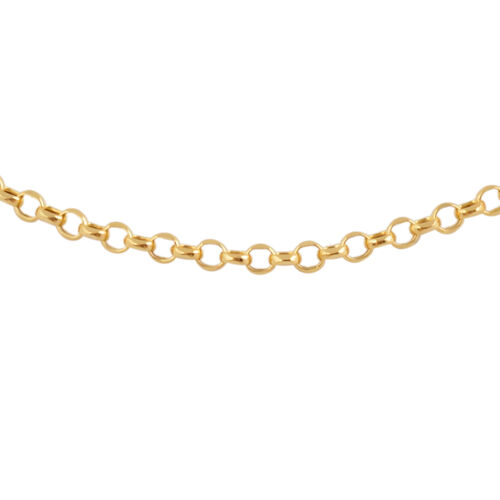 Most Requested- 9K Yellow Gold Belcher Necklace (Size 18)