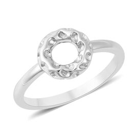 RACHEL GALLEY Allegro Collection - Rhodium Overlay Sterling Silver Mini Loop Ring