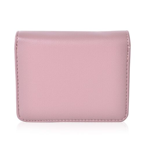 Dancing Ballerina Embroidered Purple Colour Ladies Wallet with Multiple Card Slots (Size 13X9X3 Cm)