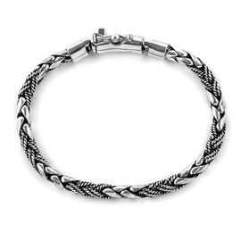 Royal Bali Collection Sterling Silver Padi Chain Bracelet (Size 8), Silver wt 27.9 Gms.