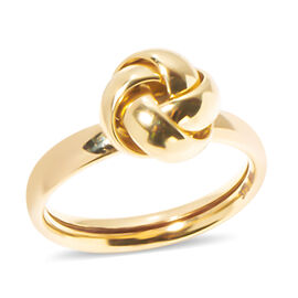 9K Yellow Gold Knot Ring