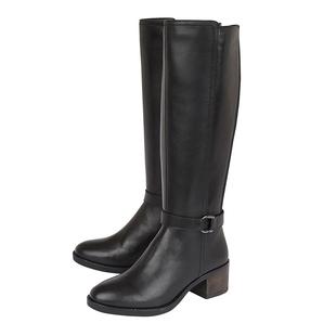 Lotus NESSA Knee High Boots - Black