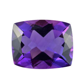 AAA Moroccan Amethyst Cushion 10.13x8.12x5.51 Faceted 2.72 Cts