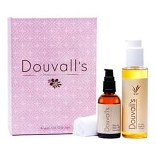 Alicia Douvall - Luxury Argan Oil Moisturiser 50ml, Argan Cleanser 150ml and muslin cloth- Estimated delivery within 5-7 working days