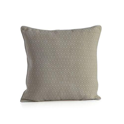 (Option 2) Diamond Pattern Champagne Cushion (Size 43x43 Cm)