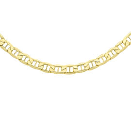 Close Out Deal- 9K Yellow Gold Necklace (Size - 20), Gold wt. 8.40 Gms