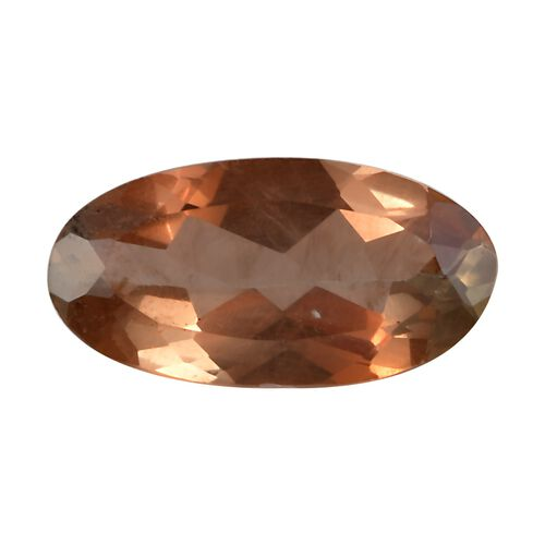 Andalusite Oval 10x5 Faceted 1A 0.94 Cts