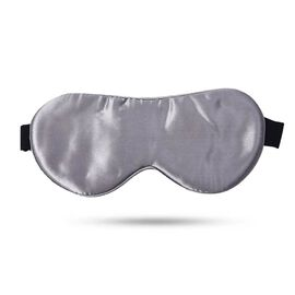 Serenity Night 100% Mulberry Silk Hyaluronic and Argan Oil Infused Eye Mask with Adjustable Elastic