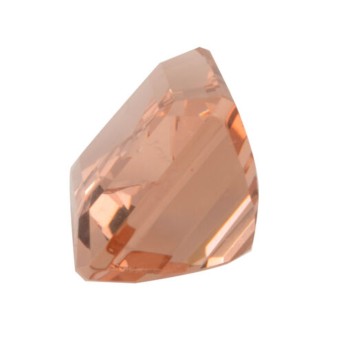 AAAA IGI Certified Morganite Emerald Faceted 15.96x11.98MM 13.50 Cts