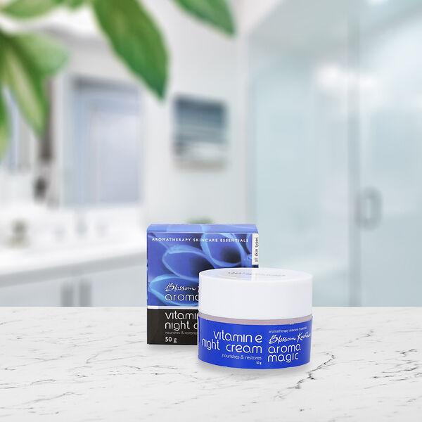 Blossom Kochhar Aroma Magic Vitamin E Night Cream - 50gm
