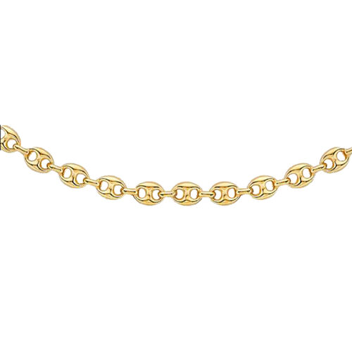 Puffed Mariner Chain in 9K Yellow Gold 10.50 Grams 18 Inch