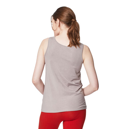Thought Bamboo Base Layer Singlet (Size 10) - Warm Grey
