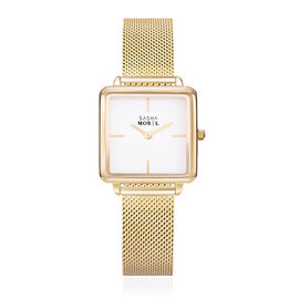 SASHA MOREL Sorrento Mesh Watch - Gold
