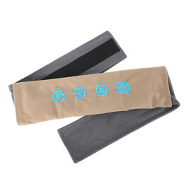 Shungite Grey and Beige Belt (Size 127x10cm) weight - 1.01 lbs