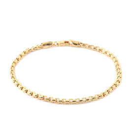 Box Belcher Chain Bracelet in 9K Yellow Gold 4.70 Grams 7.5 Inch