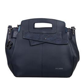 Bulaggi Collection - Scarlett - Handbag with Adjustable and Removable Strap (27x24x14 cm) - Blue