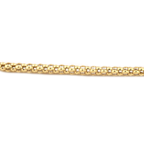 Limited Edition- Coryana Necklace (Size 60) in Yellow Gold Overlay, Silver wt. 8.73 Gms