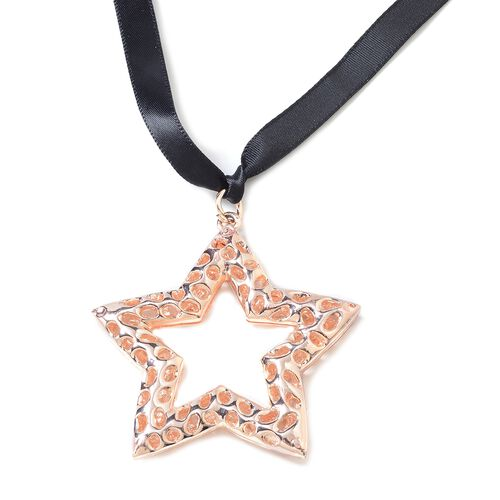 RACHEL GALLEY Star Baubles in Rose Gold Tone