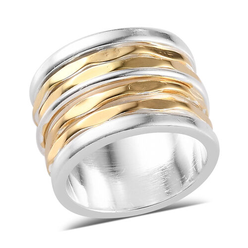 Diamond Cut Band Ring in Sterling Silver 10.42 Grams